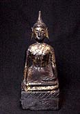 Antique Buddha from Laos