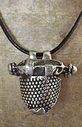 Indian Silver Pendant